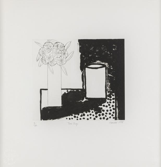 , 'Two Jugs ,' 1998, Flowers