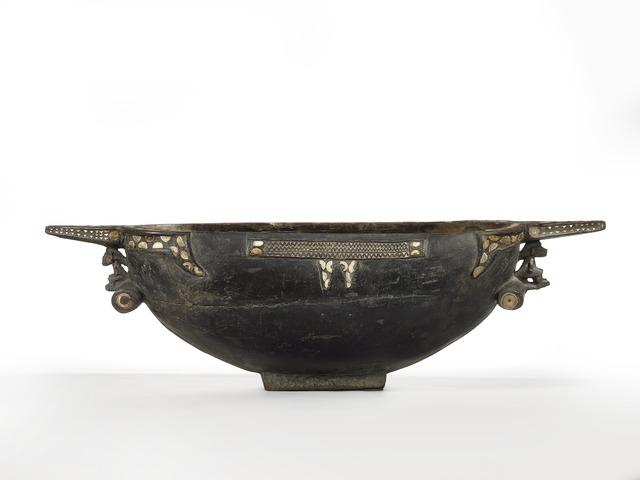 , 'Bol cérémoniel (ceremonial bowl),' c. 19th century, Musée du quai Branly