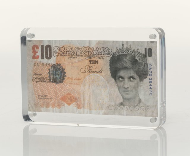 Banksy, '10 GBP Note', 2005, Heritage Auctions