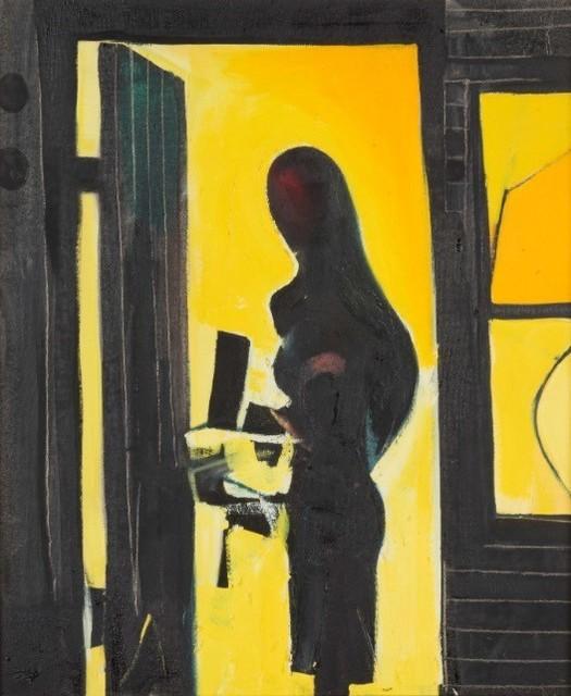 , 'Figure In Doorway,' 1955, AbExArt