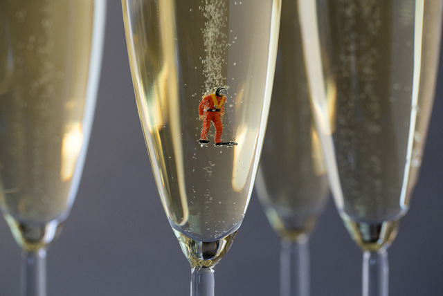 , 'Champagne Scuba ,' 2014, Winston Wächter Fine Art