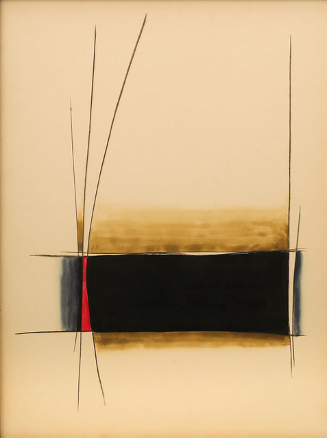Gopi Gajwani, 'Resting Red with Black', 1985, Exhibit 320