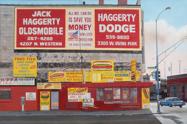 , 'Diane's Palestine Pure Beef Hot Dogs (Chicago, IL),' 2010, Jonathan Novak Contemporary Art