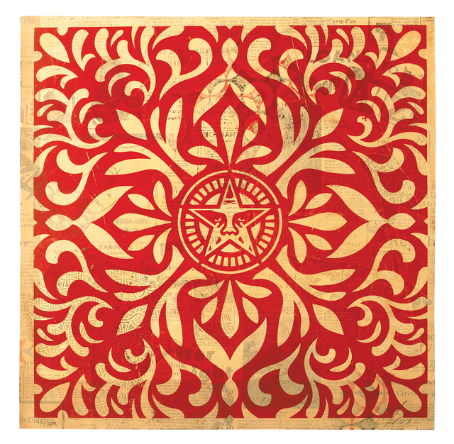 , 'Japanese Pattern (Red),' 2009, 212GALLERY