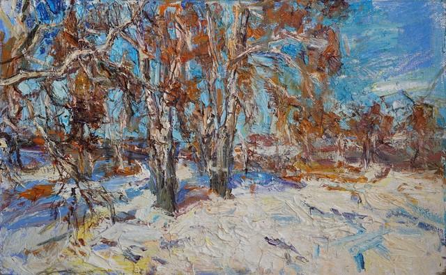 , 'Birches,' 2016, Gallery 1261