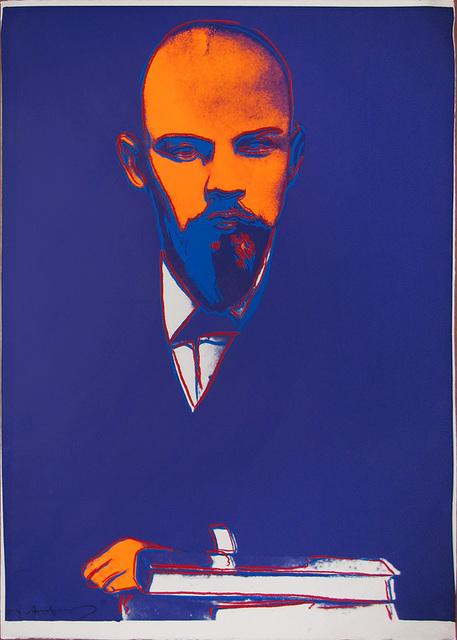 Andy Warhol, 'Lenin 402 Trial Proof (FS IIB.402)', 1987, Print, Screenprint on Arches 88 paper, Revolver Gallery