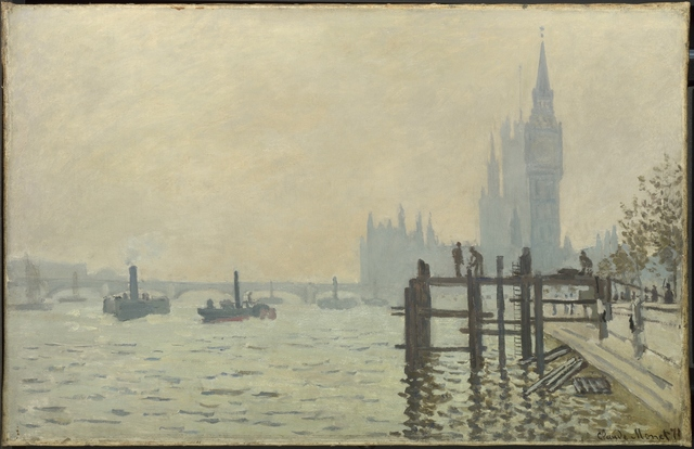 , 'The Thames below Westminster,' about 1871, The National Gallery, London
