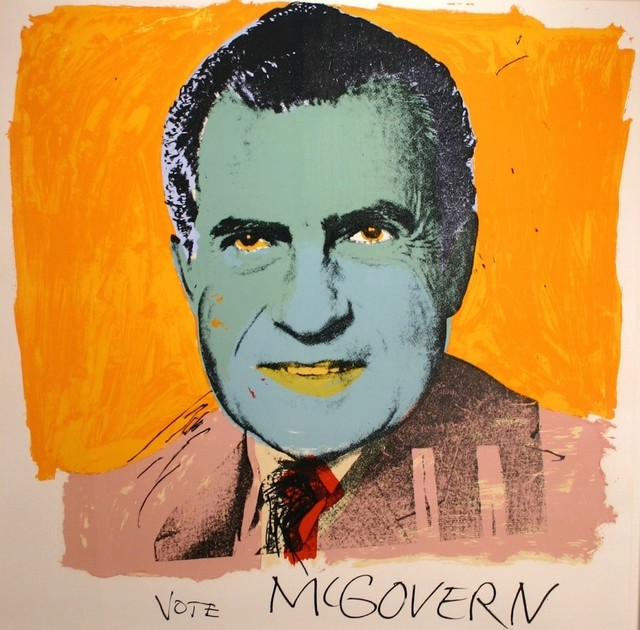 Andy Warhol, 'Vote McGovern (FS II.84)', 1972, Print, Screenprint on Arches 88 paper, Revolver Gallery