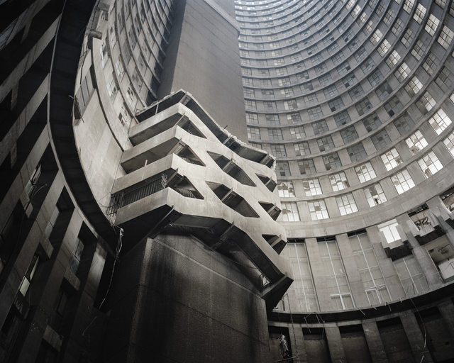 , 'Core Staircase, Ponte City,' 2008, Goodman Gallery
