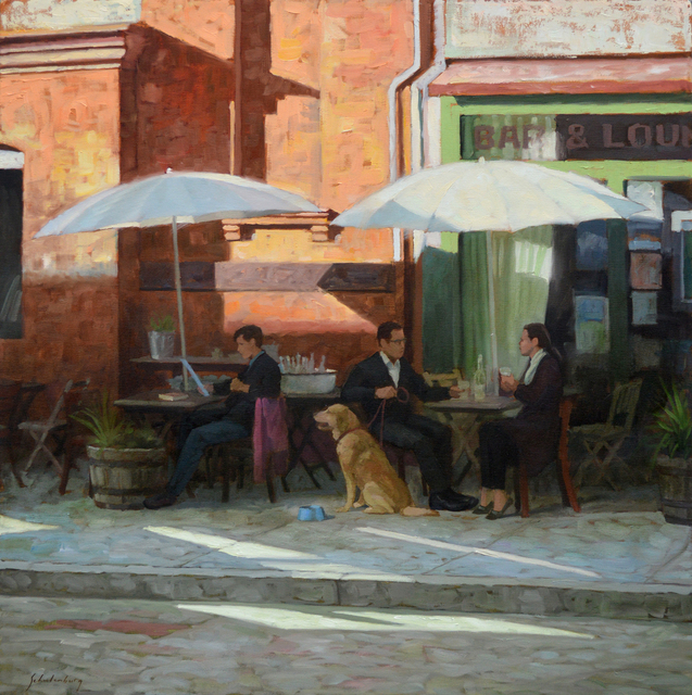, 'Cafe Tables,' , Addison Art Gallery