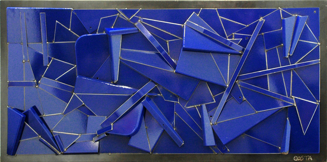 , 'Monochrome Bleu,' 2018, Galerie Art Jingle