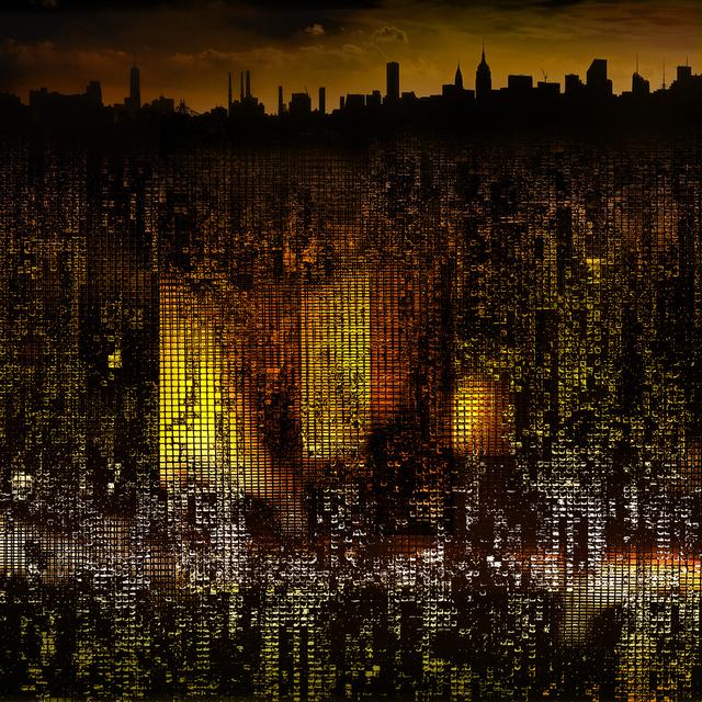 Steve Bennett, 'Metrovolution #3-Autumn', 2021, Photography, Dye sublimation composite photo on aluminum, Array Contemporary