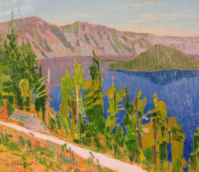 Mike Ferguson, 'From The Lodge at Crater Lake', ca. 2014, Janus Galleries