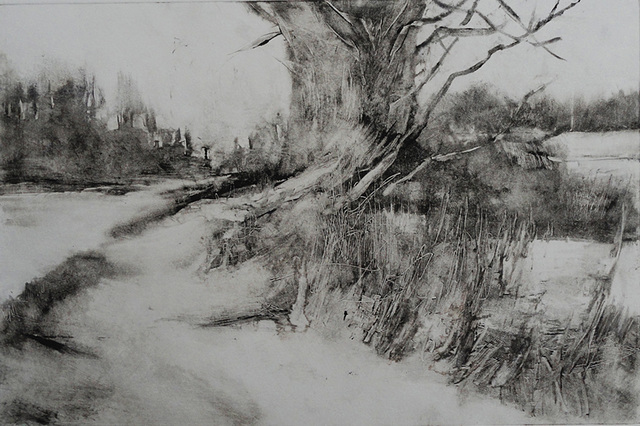 , 'March Thaw,' 2019, The Galleries at Salmagundi
