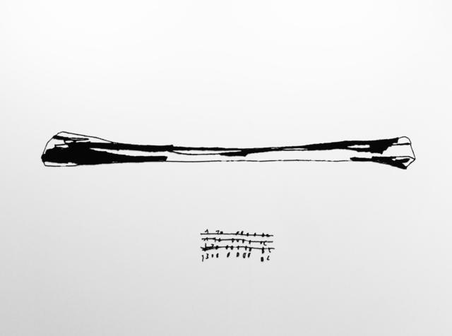 , '1300000 BC,' 2017, Max Estrella