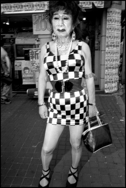 , 'Transvestite outside bar, Shinjuku, Tokyo, ,' 1999, Magnum Photos