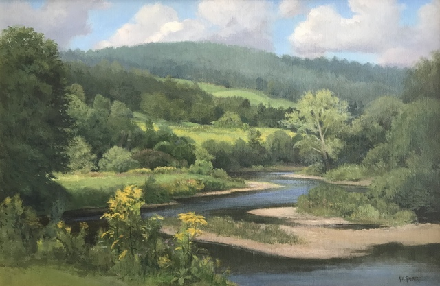 , 'Summer on the Sugar River,' 2012-2017, Canal Street Art Gallery