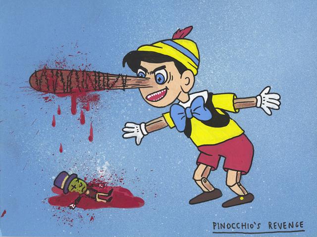 , 'Pinocchio's revenge,' 2017, MARTINA