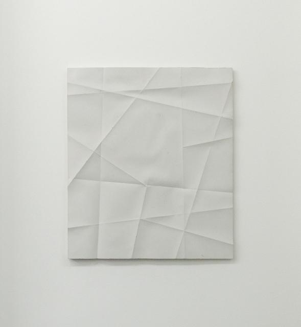 , 'Faltenguss No. 2/18,' 2018, Bartha Contemporary