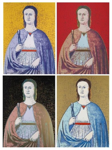 , 'Saint Apollonia, Complete Portfolio (FS II. 330-333),' 1984, Revolver Gallery