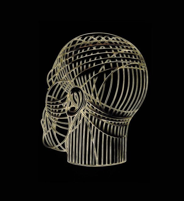 , 'Bronze Head,' 2018, Victor Lope Arte Contemporaneo