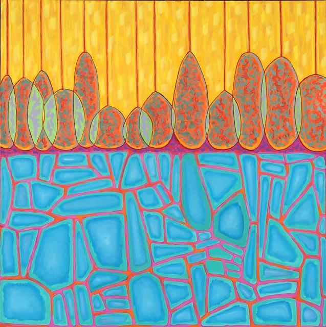, 'Blue Soil,' 2017, InLiquid