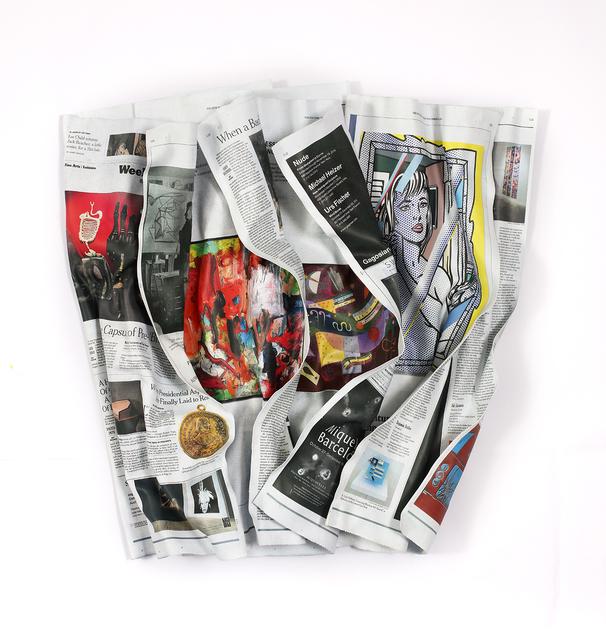 , 'NY Times 11-4-16 #3,' , Cheryl Hazan Gallery