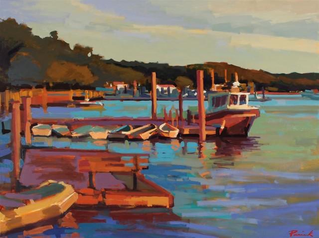 , 'Northport Docking,' , LaMantia Fine Art Inc.
