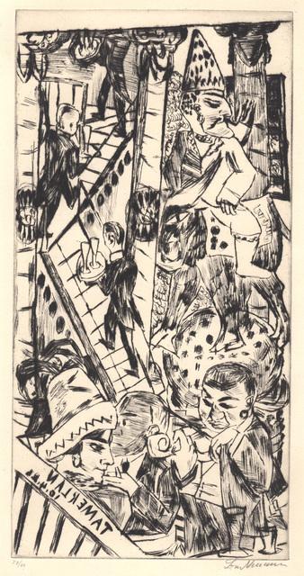 , 'Tamerlan,' 1923, Jörg Maass Kunsthandel