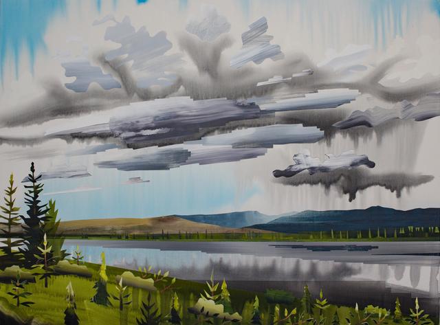 , 'Gravel Lake ,' 2017, Peter Robertson Gallery