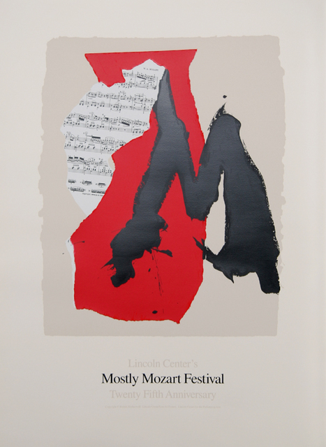 Robert Motherwell, 'Lincoln Center Mostly Mozart, 25th Anniversary', 1991, RoGallery