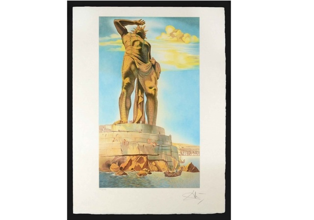Salvador Dalí, 'Colossus of Rhodes', Unknown, Leviton Fine Art