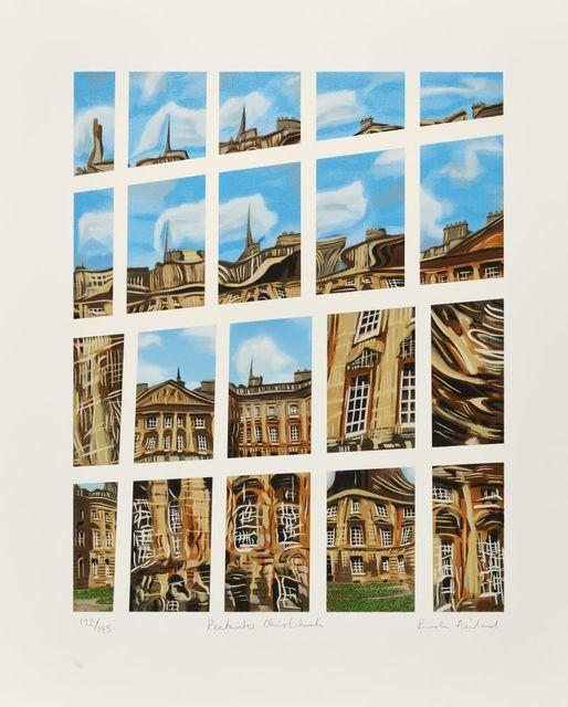 Brendan Neiland, 'Peckwater Christchurch, Alice's Garden Christchurch, Tom Tower Christchurch & Rose Window Christchurch', 1996, Roseberys