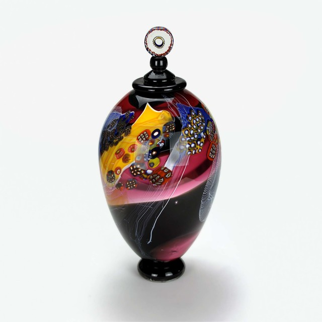 , 'Colorfield Jar III,' 2018, OTA Contemporary