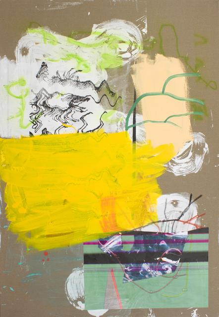 , 'Scrape Ecstasy,' 2014, Galerie Michael Janssen