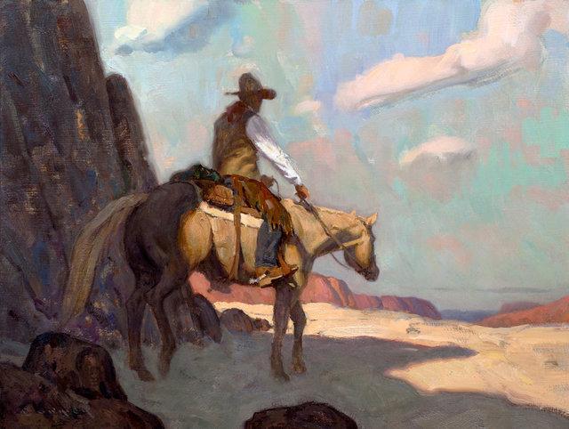 """, '""""Desert Walker"""",' 2018, Maxwell Alexander Gallery"""