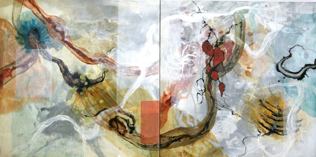 , 'White River Run Diptych,' , Gail Severn Gallery