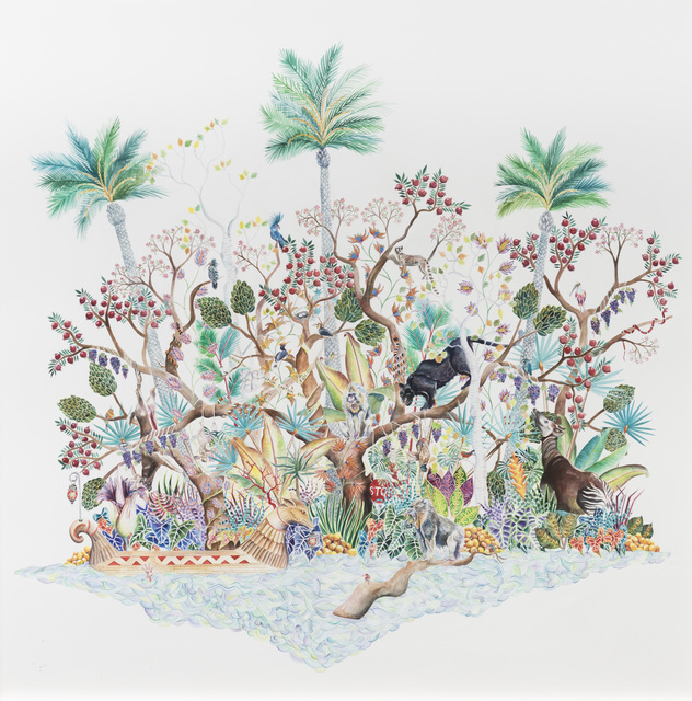 , 'Oasis,' 2018, Galerie Youn