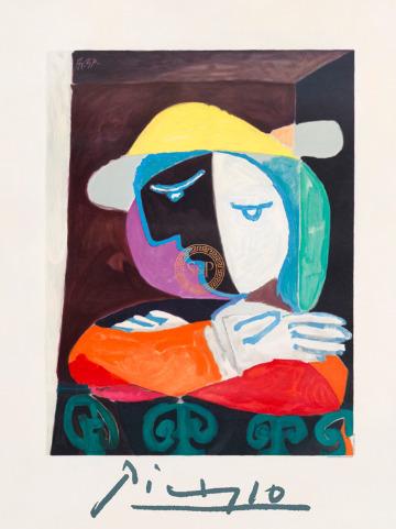 Pablo Picasso, 'Femme au Balcon', 1937, Smith & Partner