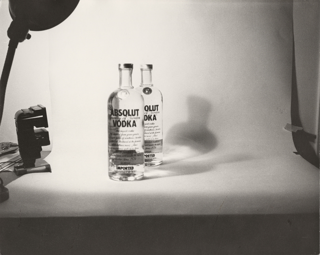 Andy Warhol, 'Absolut', ca. 1985, Photography, Unique gelatin silver print, Christie's Warhol Sale