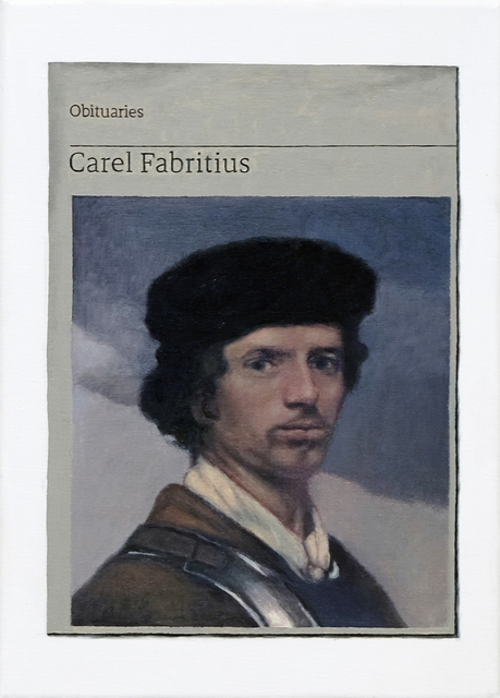 Hugh Mendes, 'Obituary: Carel Fabritius', 2019, Charlie Smith London