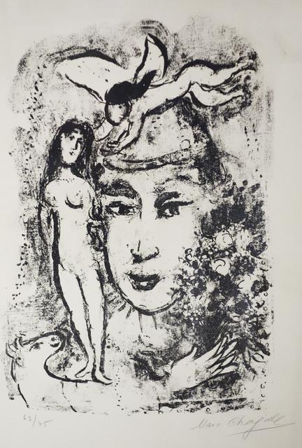 , 'Le Clown Blanc (The White Clown),' 1964, Bruno Art Group