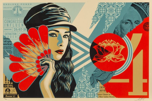 Shepard Fairey, 'Obey Fan the Flames', 2019, Heritage Auctions