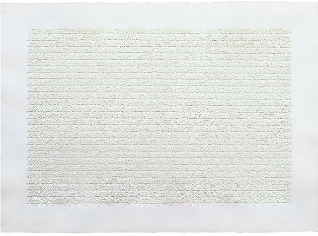 , 'Manoscritto,' 1978, Galleria Clivio