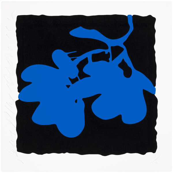 , 'Lantern flowers - blue,' 2012, Vertu Fine Art