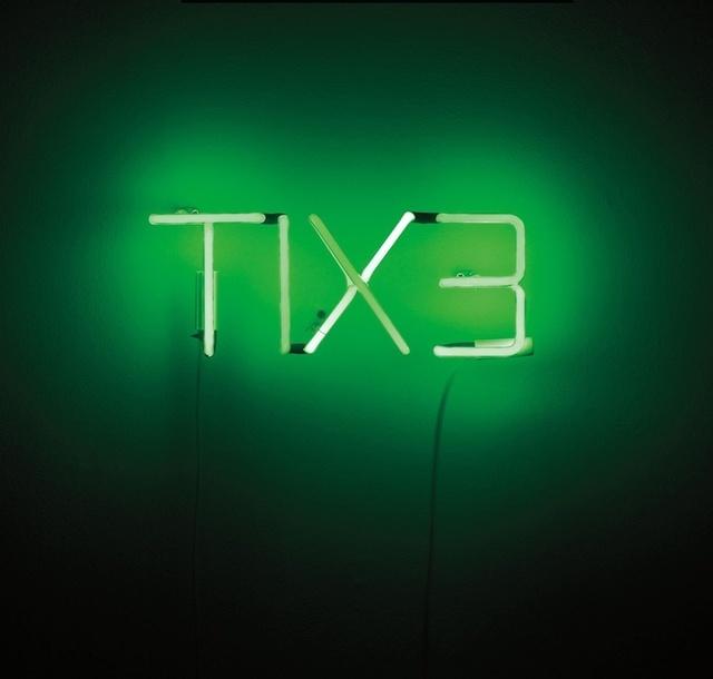 Cerith Wyn  Evans, 'TIX3', 1994, Sculpture, Neon, electronics, Artificial Gallery
