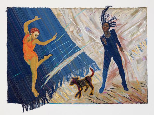 , 'Black Dog Blues,' 1983, RYAN LEE