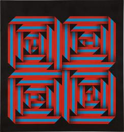 Omar Rayo, 'Anatomy of Fall,' 1964, Phillips: Latin America
