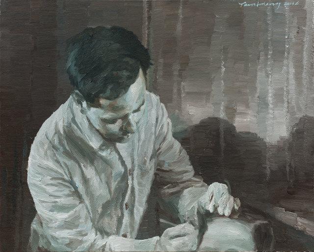 , 'L'Acupuncteur ,' 2016, Galerie Sator