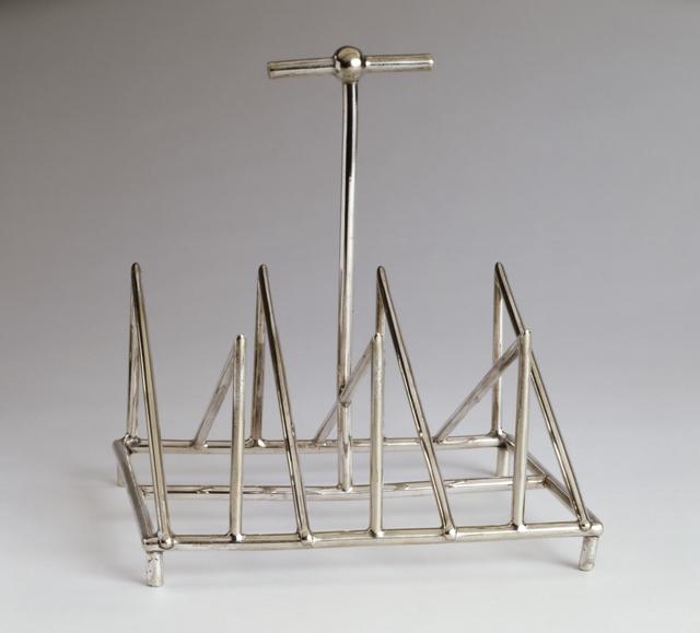 Christopher Dresser, 'Toast Rack', c. 1879, Cooper Hewitt, Smithsonian Design Museum